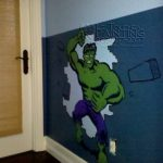 Son Was Very Happy The End Product Boys Room Painting