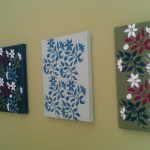 Stencil Canvas Paint Cheap Wall Art Guaranteed Match Your