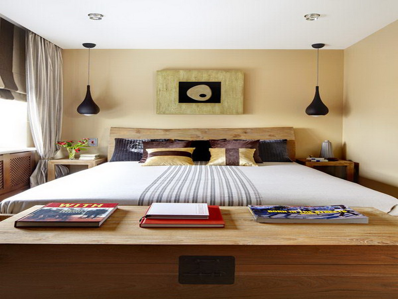 The Applying Small Bedroom Paint Ideas