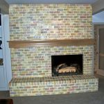 The Finished View Faux Painted Fireplace Prior