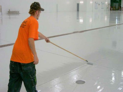 The How Paint Concrete