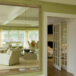 The Living Room Beautifully Painted Leaf Green Billet Collins