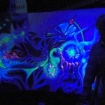 The Painting Below Live Art From Harvest Festival