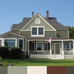 The Parlow House Different Exterior Paints Sherwin Williams