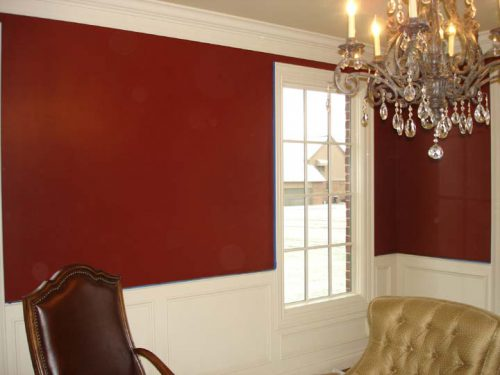 The Wall Color Brick Red Benjamin Moore
