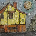 The Yellow House New Zealand Painting