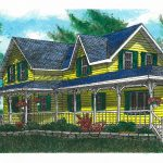 The Yellow House Painting Fine Art Print