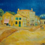 The Yellow House Painting Van Gogh Where Was
