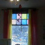 Them Our Front Window Make Pretty Stained Glass Art Work