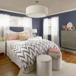 This Home Office Features Benjamin Moore Coastal Palette