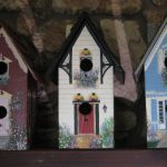 Three New Bird Houses Painted True The Victorian Edwardian