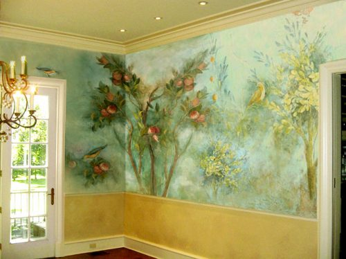Trompe Oeil Wall Painting