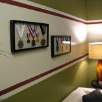 Use Tape Painter Cover The Area Where Ceiling Meets Wall