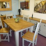 Verona Painted Extending Dining Table