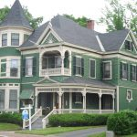 Victorian House Exterior Green Paint
