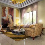 Wall Decoration European Classical Painting Chinese