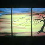 Wall Hangings Art Gallery For Sale Three Piece Painting