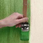 Wall Painting Techniques Dragging Decorative
