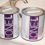 Went Olympic One Interior Paint Due Mildew Resistant