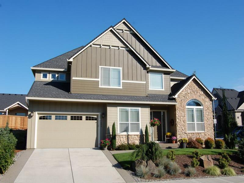 What Color Should Paint House Exterior Stone Wall
