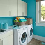 What Color Would You Paint This Tiny Laundry Room
