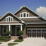 White Brown Exterior House Paint Colors