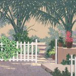 White Fence Painting