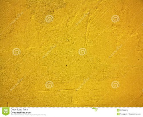 Yellow Orange Paint Concrete Wall Texture