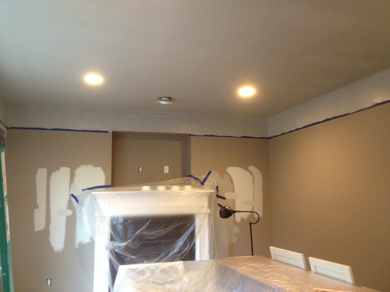 You Might Well Paint Ceilings Too Before The New Floors Are