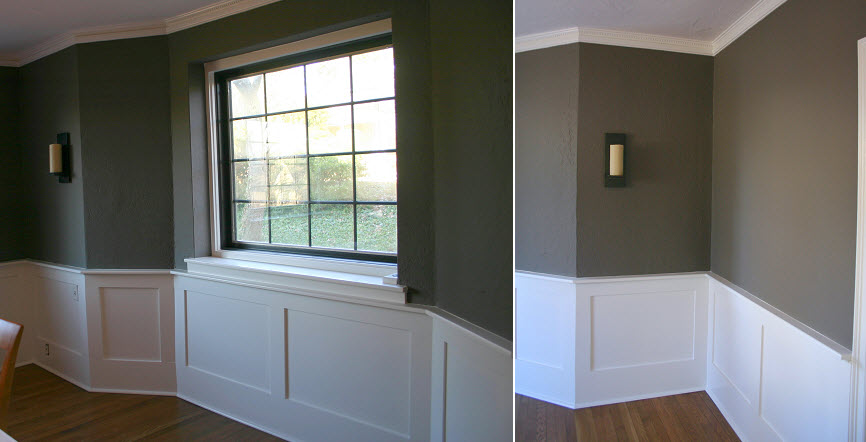 Transform The Personality Room Just Paint And Mouldings