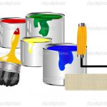 Paint And Painting Tools Stock Vector Cobol