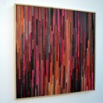 Abstract Acrylic Painting Wood Reclaimed