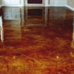 Acid Stain Preparation Portland Bach Custom