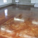 Acid Stained Concrete Floors Countertops Lafountain Garage