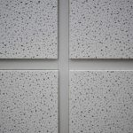 Acoustical Ceiling Tile Painting Installation