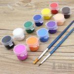 Acrylic Paint Painting Pigments Painted Hand Wall