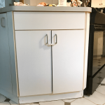 Add Trim Paint Your Laminate Cabinets