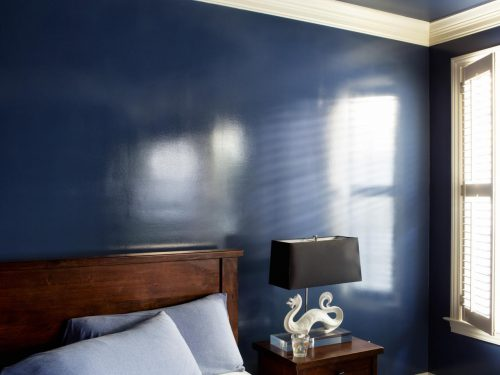 Add Wet Effect Walls Glossy Paint