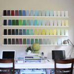Adding Wall Interest Bunch Paint Swatches Young House