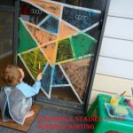 Adventures Home Mum Window Painting Washable Stained