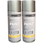 All Purpose Spray Paint Metallic Effect Interior Exterior Metal Wood Plastic