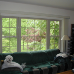 Almond Replacement Windows White Painted Interior