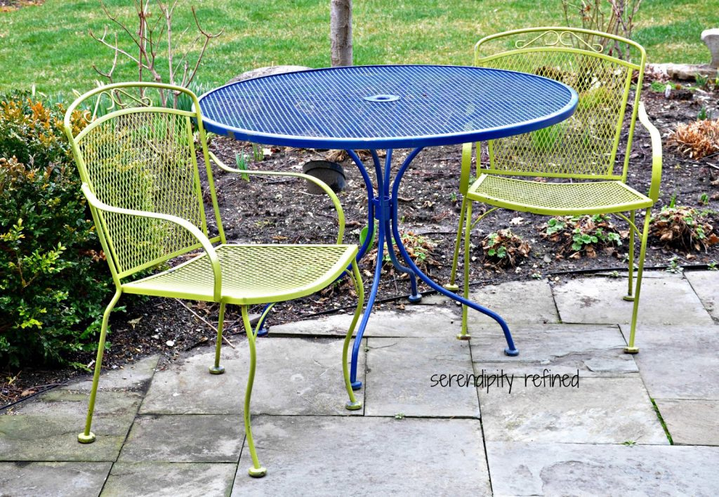 Aluminum Outdoor Patio Furniture Metal Touch Paint Spray Appealing Singapore