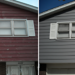 Aluminum Siding Painting
