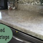 Amazing Faux Granite Spray Paint Countertop Look Like