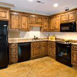 Amazing Reclaimed Wooden Alder Cabinets White Wall Painted Color Added Black