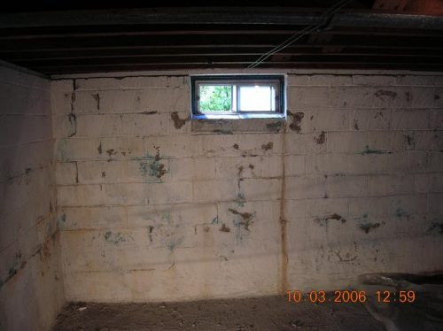 American Basement Solutions Peeling Bubbling Paint