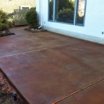Amusing Patio Concrete Paint Ideas Cement Fix Cracked