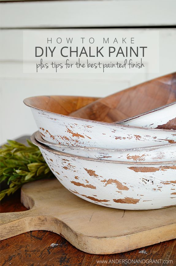 Anderson Grant Make Diy Chalk Paint Plus Tips Best Painted Finish