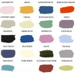 Annie Sloan Chalk Paint Color Chart Painted Attic Welcome